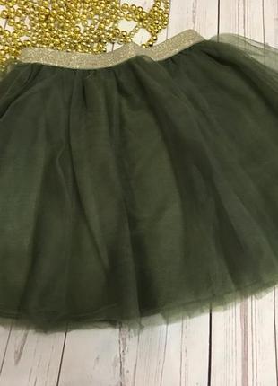 Пышная нарядная юбка от crazy8 размер 4т