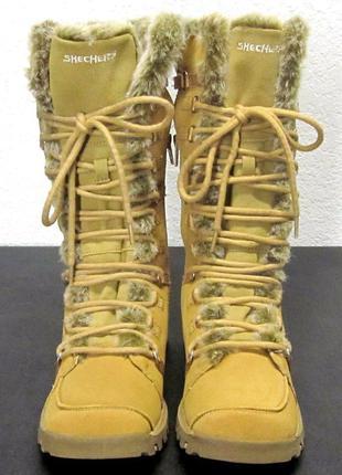 Skechers новые кожаные сапоги ugg размер 36 (по стельке - 23 см.)