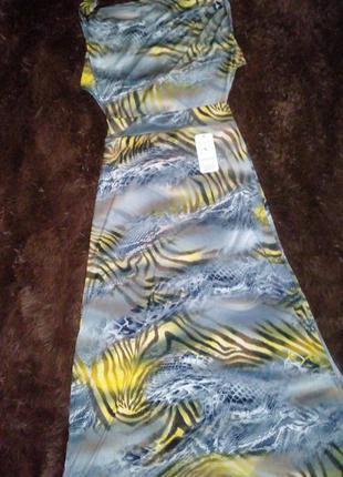 Летние платье с открытой спиной