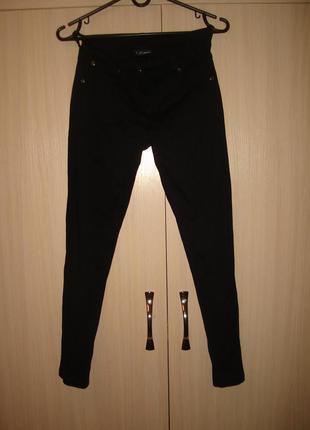 Next черные брюки скинни некст на 12 лет