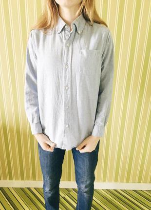 Шикарные молодежные рубашки джинсовая и в клеточку