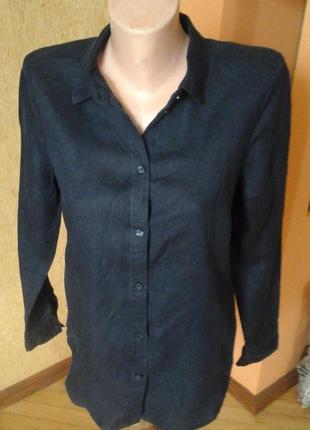 Льняная рубашка фирмы cubus