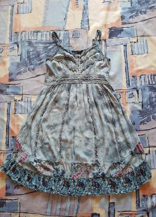 Роскошный сарафан платье бохо