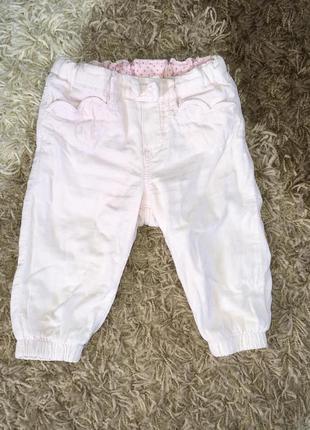 Вельветовые штанишки,68-74 см