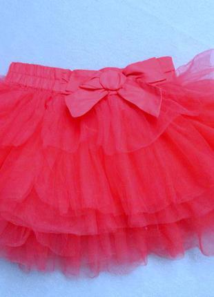 Шикарная юбка -пачка на 3-4 года
