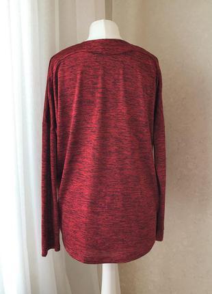 Роскошная бордовая блуза с вырезом2 фото
