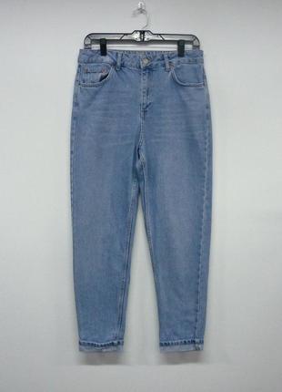 Topshop mom jeans  мам джинсы с высокой посадкой голубые w 30