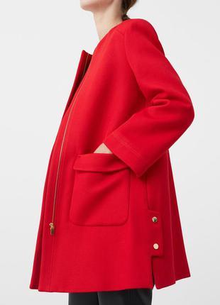 Очень крутое красное пальто/жакет mango suit
