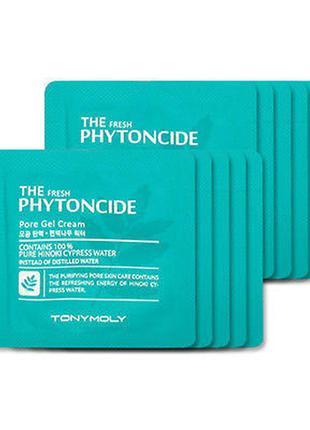 Увлажняющий гель-крем tony moly the fresh phytoncide pore gel cream