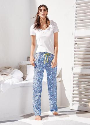 Штаны брюки пижамные размер 42-44 наш tchibo тсм