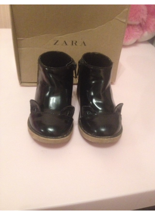 Zara ботинки сапожки
