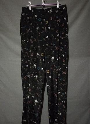 Брюки в пижамном стиле английский бренд  london collection
