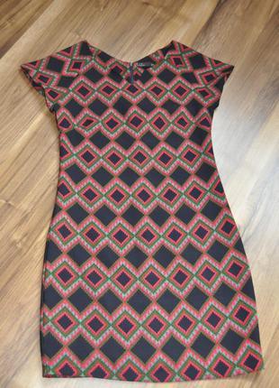 Платье с ярким орнаментом pit by jc collection s-m