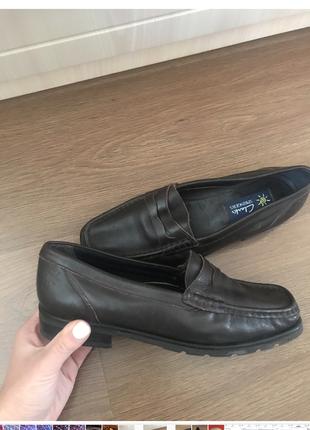 Clark's туфли мокасины