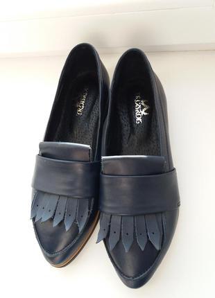 Туфли лофери 37р