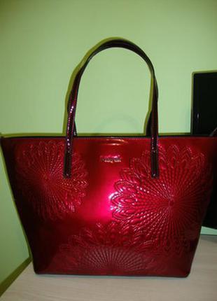 Новая оригинальная сумка-шоппер desigual