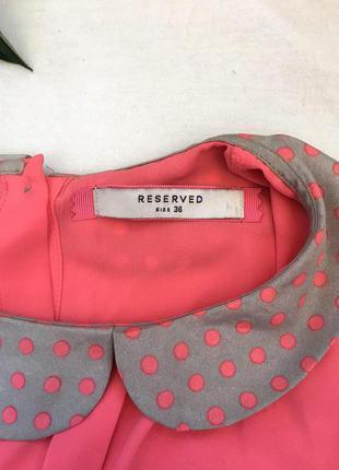 Блузка футболка с воротником reserved