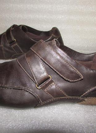 Туфли мокасины 100% натуральная кожа ~clarks active air~ р 38/5 d