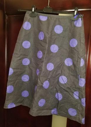Продам шикарную льняную юбку