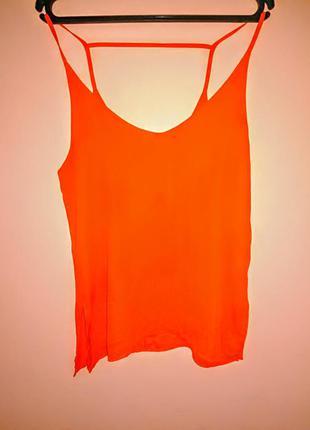 Топ ярко-оранжевый///много интересного///