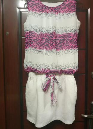 Очень классное платье с заниженной талией, размер 40 евро, покупала в турции