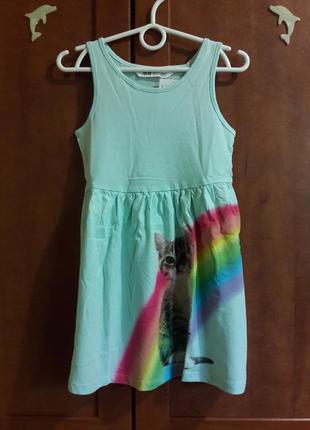 Платье на 1-2 года h&m