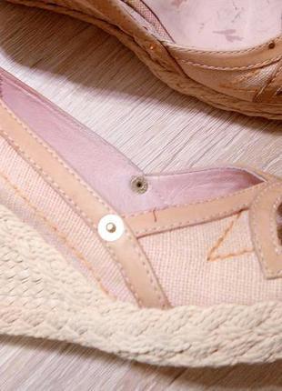 Оригинальные летние открытые туфли