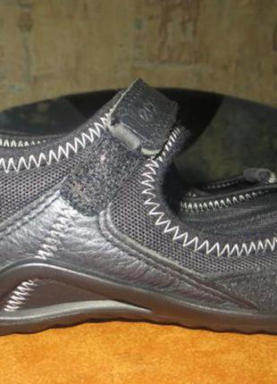 Кожаные туфли ecco р.32 ( по стельке 21 см )