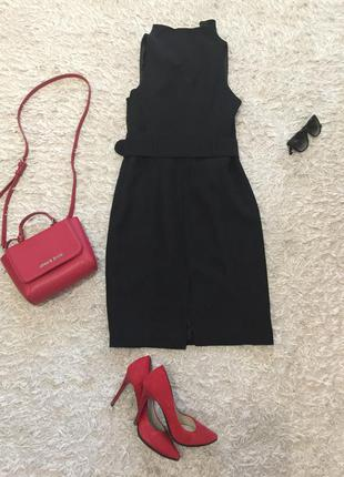 Строгое платье-футляр next3