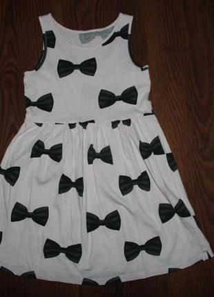Платье, сарафан h&m на девочку 4-6 лет