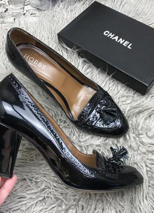 Изысканные туфли hobbs италия (натуральная кожа )