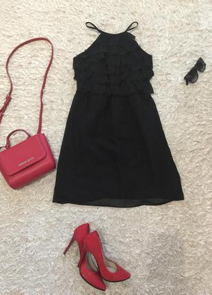 Женственное платье сарафан naf-naf