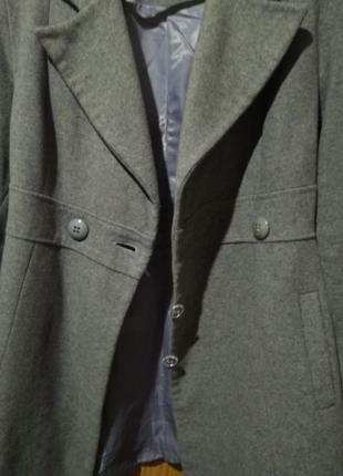 Пальто шерсть натуральна
