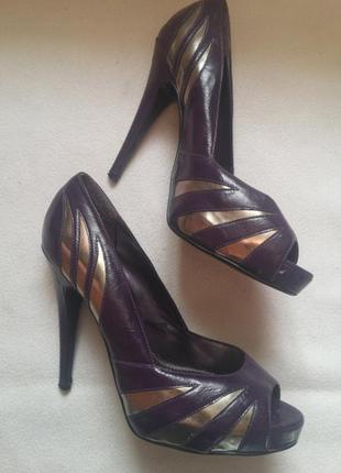 """Роскошные туфли с открытым носком """"debenhams. redherring"""" , размер 41"""