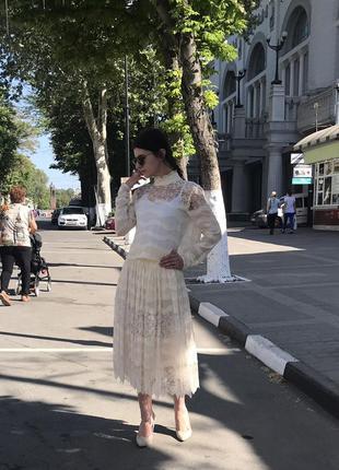 Изысканная роскошь костюм комплект юбочный вечерний от h&m conscious exclusive