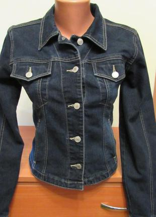 Жіноча джинсова куртка clockhouse / женская джинсовая куртка