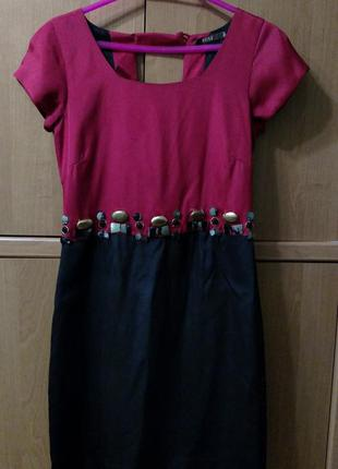 Платье шелк,италия