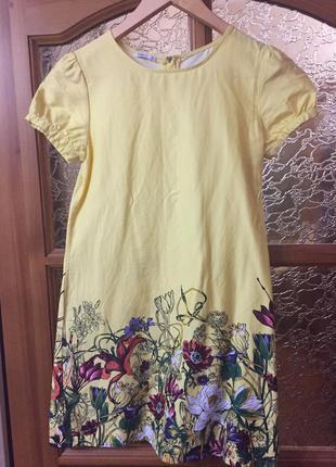 Продам платье для девочки oodji kids