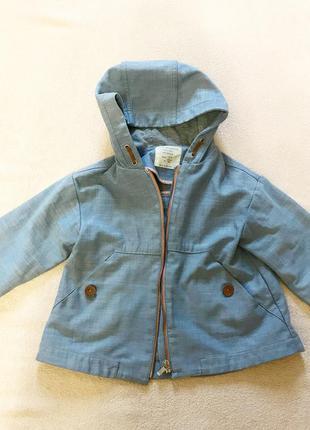 Курточка zara для девочки