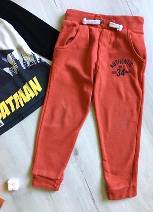 Спортивные штаны на 4-5 лет, mothercare