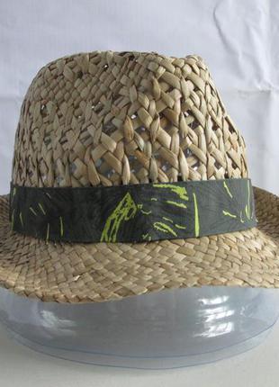 Шляпа шляпка соломенная унисекс accessoires c&a германия оригинал европа