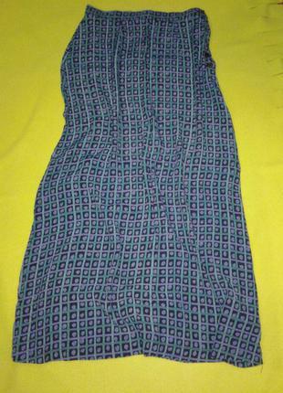 Макси юбка длинная юбка вискоза s-m-l