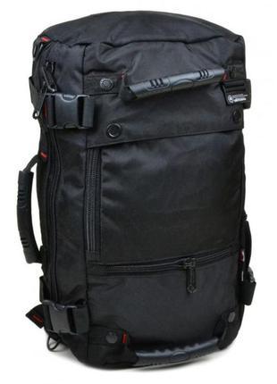 Рюкзак сумка трансформер witzman (оригинал) типа oxford, круче чем swissgear