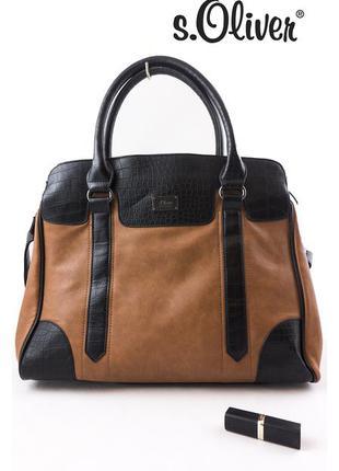 Стильная брендовая сумка, s.oliver, оригинал