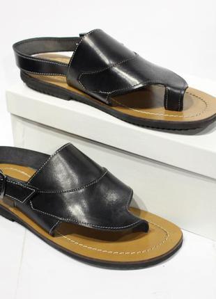 Шикарні шкіряні сандалі lavorazione artigiana, оригінал