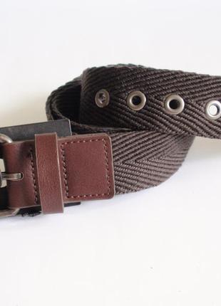 Ремень тканевый текстильный accessoires c&a - германия