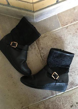 Сапоги ботинки1 фото