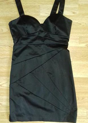 Чорна сукня h&m