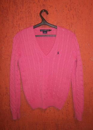 Пуловер sport хлопок ralph lauren