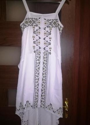 Шикарное платье/сарафан с вышивкой тренд англия бренд marks & spencer